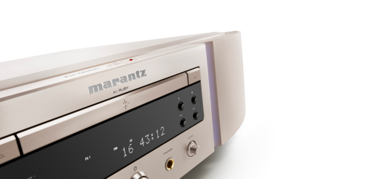 The SA-KI Ruby Super Audio CD-Player.